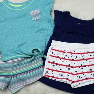 NWT Cat & Jack Short set bundle